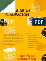 Diapositivas Jose Eliecer - Etapas de La Planeacion