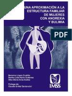 Uma Proximacion a la estructura familiar de mujeres con anorexia y bulimia