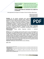 Agricultura Familiar e Programa de Aquisição de Alimentos