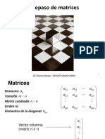 1. Repaso de Matrices 2019