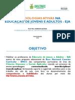 Metodologias Ativas Eja- Prof Marcos Alfaia