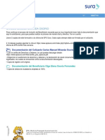 FormularioAfiliacionBeneficiarios EPS Sura Indicaciones