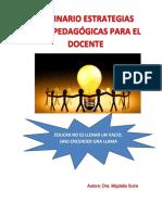 516 - Seminario Estrategias Psicopedagógicas Para El Docente