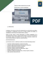Medicion de Factores Climaticos en La Estacion Weberbauer