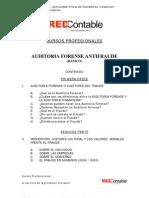 Auditoria Forense o Antifraude