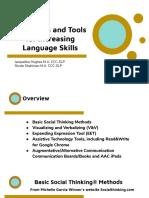 strategies and tools for increasing language skills