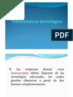 transferencia tecnologica