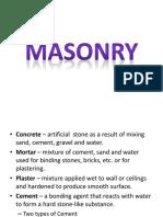 Masonry Gl