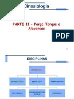 2 Cinesiologia Forca Torque Alavancas