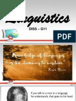 DISS - Linguistics