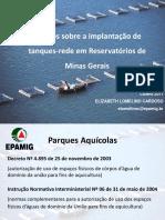 Ordenamento de parques aquicolas