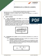 Compresion Perpendicular a La Fibra de La Madera