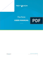 RevNote Software User Manual 1