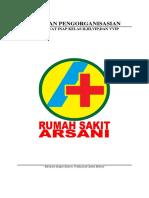 Cover Pedoman Pengorganisasian Rawat Inap