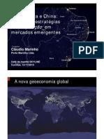 Brasil, Índia e China