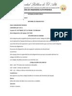 Informe de Diagnostico de Cat950g