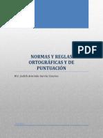 C1. Apuntes de Normas y Reglas Ortográficas y de Puntuación