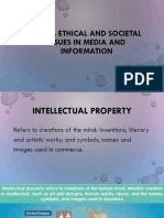 Legal Ethical and Societal Issues in Media And