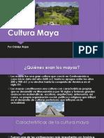 Cultura Maya (Historia).