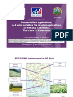 Conservation Agriculture, A 4 Wins Solution for Rainfed Agriculture in Mekong Countries
