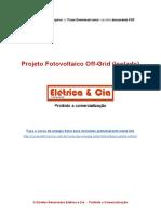 Projeto Fotovoltaico Off-Grid