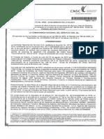 Acto Administrativo Motivado - Orden Nacional