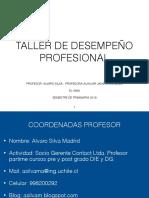 Clases N 1 Y 2 Presentaci n Taller EL 5900