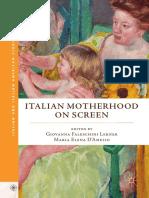 (Italian and Italian American Studies) Giovanna Faleschini Lerner, Maria Elena D'Amelio (Eds.) - Italian Motherhood on Screen-Palgrave Macmillan (2017)