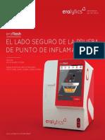Spanish Brochure ERAFLASH by Eralytics