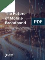 The Future of Mobile Broadband