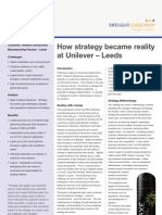 Unilever Sia Case Study