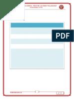 modelo de informe encabezado y marco