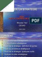 Audit Stratégie