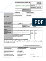 Application for Initial Review 2