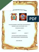 Informe Cuarteo de Humeda Tegnologia Del Concreto