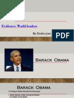 Deapositivas Barack Obama Sena