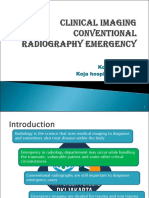 Emergency Imaging X-Ray
