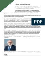 Biografía de Francisco Antonio de Fuentes y Guzmán