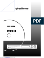 IsoBuster Cyberhome DVR 1600