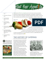 Catering Newsletter Fall 2009