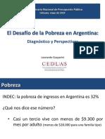 El Desafío de La Pobreza en Argentina, Por Leonardo Gasparini