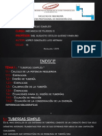 Mfii - Tuberias Simples - Luis Lopez. Ppt