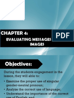 Evaluating Messages and Images 1