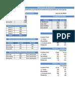 Ejemplo Presupuesto de Produccion