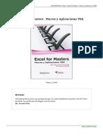 Excel for Masters Macros y Aplicaciones Vba Book