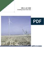 Vestas Wind Turbine Ilocos Norte