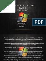 Microsoft Excel 2007 Presentation