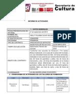 Informe Prebanda Quimbaya 4
