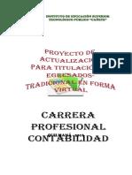 Proyecto Actualiza 3º Etapa