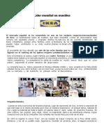 Caso IKEA Líder Mundial en Muebles